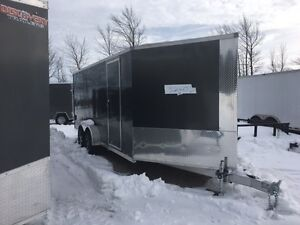 7x23 Drive in and out Snowmobile Trailer Kitchener / Waterloo Kitchener Area image 3