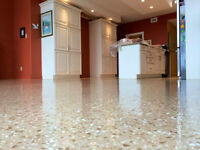 Epoxy Basement & Garage Flooring