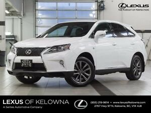 2015 Lexus RX 350 F-Sport Package - Heads-up Display