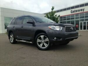 2008 Toyota Highlander Sport 7-Pass 4WD Leather, Heated Seats, S