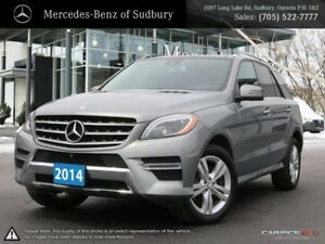 2014 MERCEDES M CLASS ML350 - COMMENDABLE EFFICIENT V6 DIESEL EN