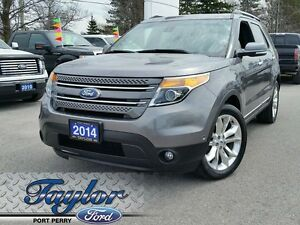 2014 Ford Explorer Limited *4WD* *Nav* *Leather* *Roof*