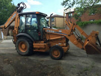 2007 CASE 580SM *50th Anniversary Edition* Backhoe Loader