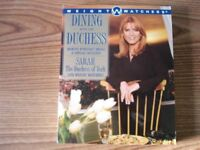 Dining with the Duchess - Vintage Weight Watchers Book LIKE NEW