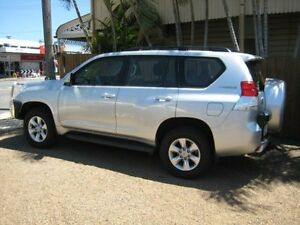 2011 Toyota Landcruiser Prado KDJ150R GXL Silver Automated Wagon Woodend Ipswich City Preview