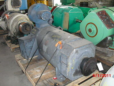 300 HP DC Emerson Electric Motor, 850 RPM, 5010AT Frame, DPFV, 500 V Arm.