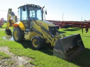 2013 New Holland B110C