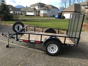 5 x 8 Great Norther Utility Trailer