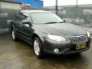 2007 Subaru Outback 3Gen Grey Automatic 4-Door Wagon Carrara Gold Coast City Preview