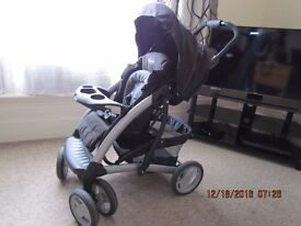 Graco Quattro Tour Deluxe TS - One year old in very good condition - Reduced Again Must Go