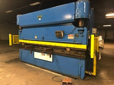 Pacific 225 Ton 14 Hydraulic Press Brake Cnc Backgauge 12 5 Between Columns