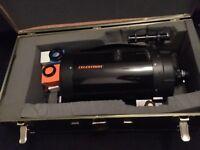 Telescope Celestron C8 sct ota . schmidt cassegrain 1990's model 8'' aperture