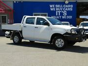2011 Toyota Hilux KUN26R MY12 SR Double Cab White 5 Speed Manual Utility Welshpool Canning Area Preview