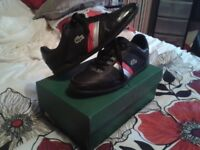 Mens Lacoste trainers size 9