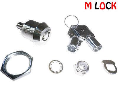 Lot Of 7 58 Tubular Cam Lock Tool Box 180 Degree Turn 2 Key Pull Keyed Alike