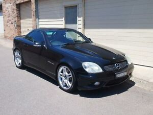 2002 Mercedes-Benz SLK32 R170 AMG Obsidian Black 5 Speed Automatic Roadster Petersham Marrickville Area Preview