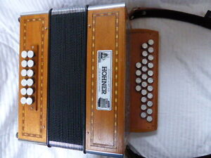 button accordion Hohner Galaad