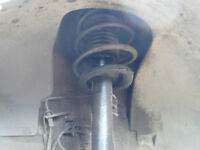 bmw e46 compact front suspension shock spring
