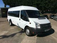 01958e39b6 Ford Transit T430 MEDIUM ROOF MINIBUS 17 SEATER 135PS EURO 5 DIESEL WHITE  (2014)