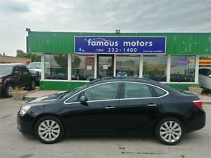 2012 Buick Verano w/1SD/LEATHER/SUNROOF/BLUETOOTH/LOW KM'S!!