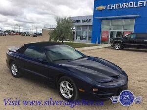 Original 99 Pontiac Trans Am Convertible 6 speed standard 350 V8