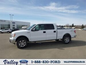 WELL-CARED-FOR & SUPER CLEAN! 2013 Ford F-150 CREWCAB XLT