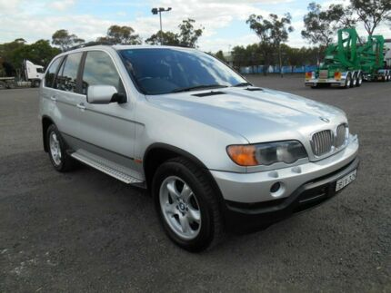2000 BMW X5 E53 4.4I Silver 5 Speed Auto Steptronic Wagon Condell Park Bankstown Area Preview