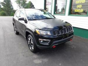2017 Jeep Compass Trailhawk for only $236 bi-weekly all in!