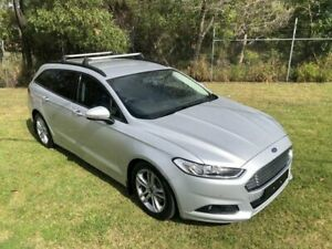 2015 Ford Mondeo MD Ambiente Silver 5 Speed Automatic Wagon Slacks Creek Logan Area Preview