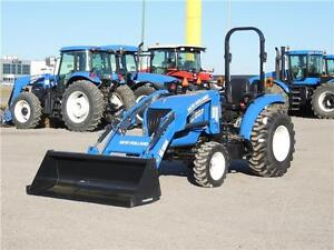 2015 New Holland Boomer 33 - 33hp, Loader, PTO, 3pt. hitch