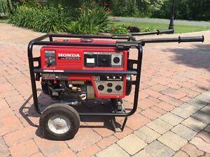 Génératrice Honda 6500W sur caisson sur roue, maléable