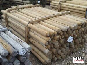 Timed Auction NOW OPEN! Treated Doweled Rails/Posts