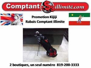 Promotion Kijiji  sac de golf  CV154001 Rabais Chez Comptantillimite.com, Un bon choix pour vos achats. 819-200-3333