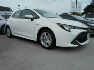 2018 Toyota Corolla ZWE211R Ascent Sport E-CVT Hybrid Glacier White 10 Speed Constant Variable North Hobart Hobart City Preview