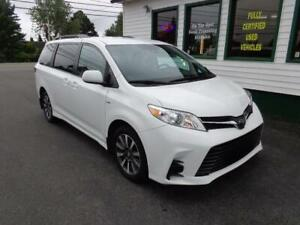 2018 Toyota Sienna LE AWD for $284 bi-weekly all in!