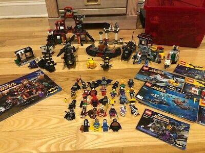 HUGE LEGO BATMAN SETS BUNDLE LOT 32 MINIFIGURES 76027 6857 6858 76010 70901