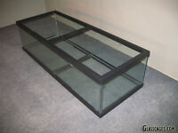 50 gallon long (shallow) Aquarium by Glass Cages