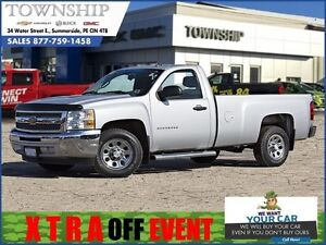 2013 Chevrolet Silverado 1500 LS - $11/Day - 2WD - Low Mileage!