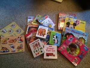 Lots of misc books and toys