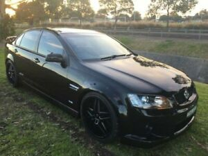 2007 Holden Commodore VE SS-V Black 6 Speed Manual Sedan Mayfield East Newcastle Area Preview