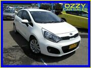 2014 Kia Rio UB MY14 SI White 6 Speed Automatic Hatchback Penrith Penrith Area Preview