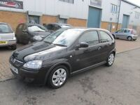 vauxhall corsa 1.2 2005 55,reg 1 years mot very good condition/runner £895 px/welcome