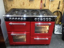 RECONDITIONED 110 STOVES LPG DUAL FUEL RANGE COOKER