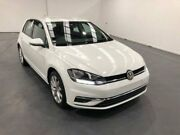 2017 Volkswagen Golf AU MY18 110 TSI Comfortline White 7 Speed Auto Direct Shift Hatchback Fyshwick South Canberra Preview