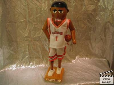 Clemson University Basketball Player Nutcracker #19 Sterling & Camille NEW
