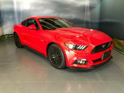 2015 Ford Mustang FM GT Fastback SelectShift Red 6 Speed Sports Automatic Fastback