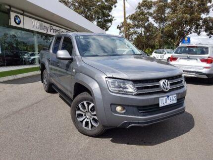 2015 Volkswagen Amarok Grey Automatic Utility