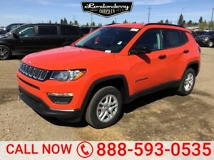 2018 Jeep Compass 4X4 SPORT                Air Conditioning  Tou