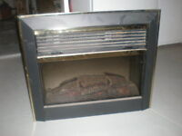 Electric Fireplace Insert With Realistic Flame And Heat