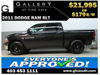 2011 DODGE RAM HEMI CREW *EVERYONE APPROVED* $0 DOWN $179/BW!